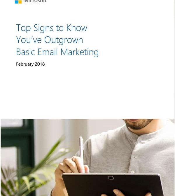 Top signs to know you've outgrown basic email marketing